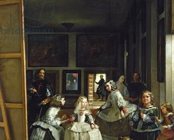 Las Meninas or The Family of Philip IV, c.1656 (oil on canvas)